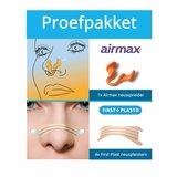 Proefpakket meest gebruikte producten neusstrip en neusspreider snurken