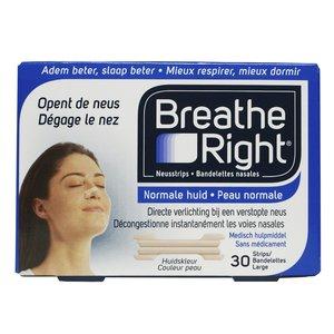 Breathe right strips 30 stuks tanned large huidskleur